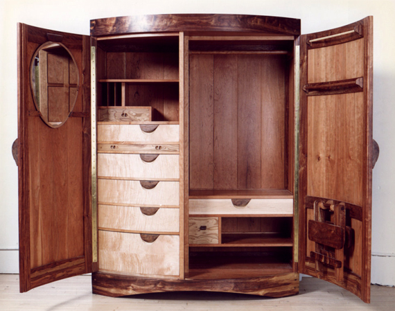 Stephens Armoire (Open)