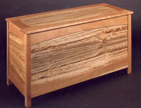 Cherry and Camphor Blanket Chest
