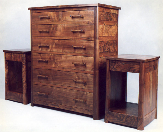 Gonzales Chest of Drawers and Side Tables