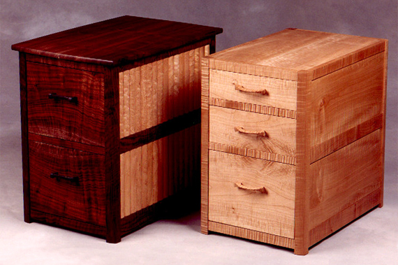 Iron Handle and Whetstone File Cabinets