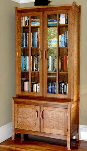 Kasapi Bookcase and Cabinet