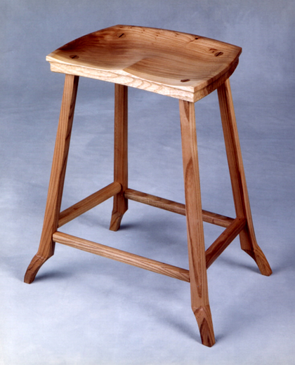 Sculptued Seat Stool