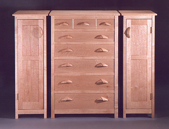 Carter Chest of Drawers and Side Cabinets
